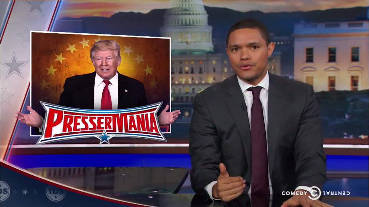 Trevor Noah isn't buying Donald Trump's promise that he can avoid conf...