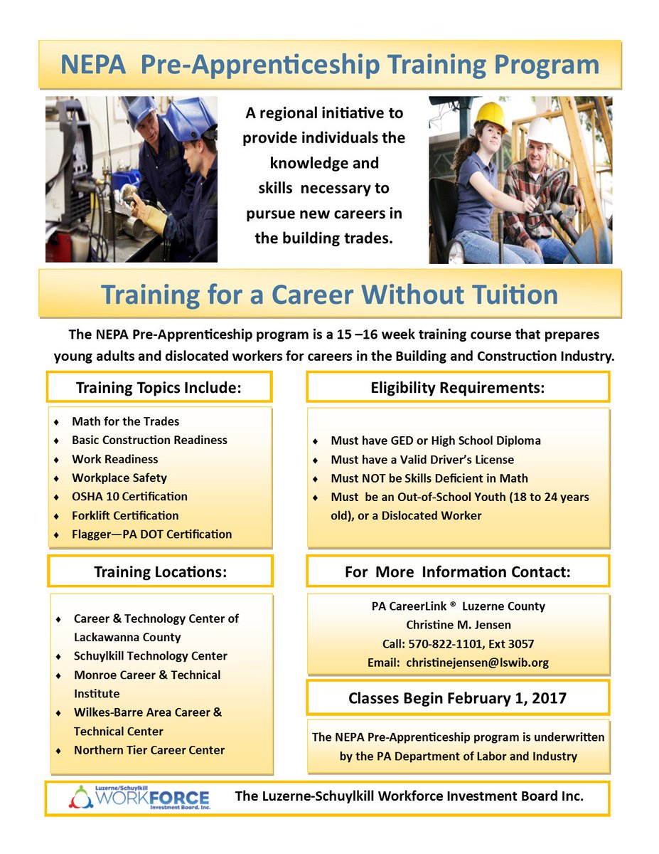 Pa Careerlink On Twitter Free Training Classes Forming Soon