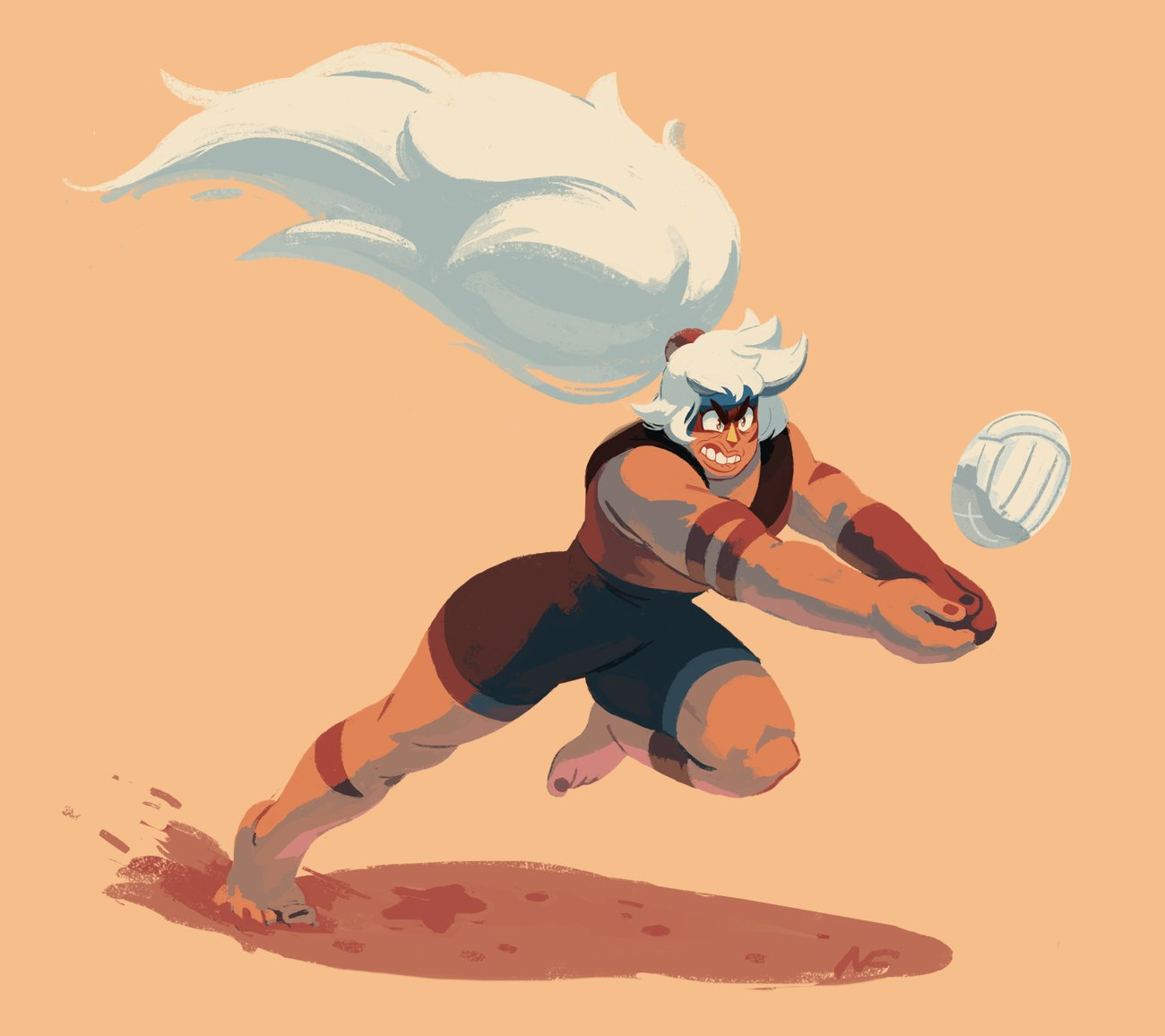 """""""I'm still in awe that volleyball jasper exists"""""""