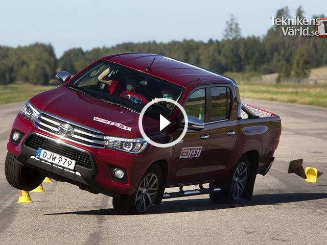The Toyota Hilux Again Fails The Moose Test In Spectacular Fashion