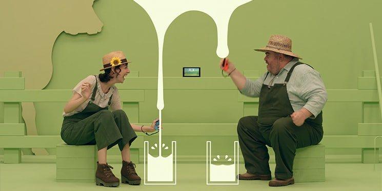 En fait, Nintendo nous prends tellement pour des vaches à lait qu&#39;ils ont font un mini-jeu. #SwitchPresentation  #Nintendo #Moo <br>http://pic.twitter.com/WYf5tl5f3d