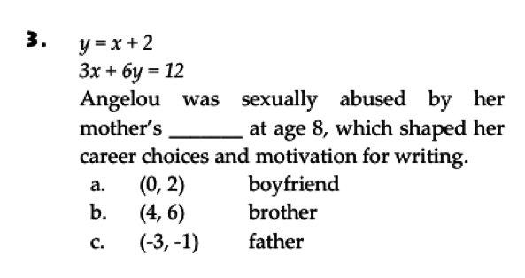 Sexual math problem