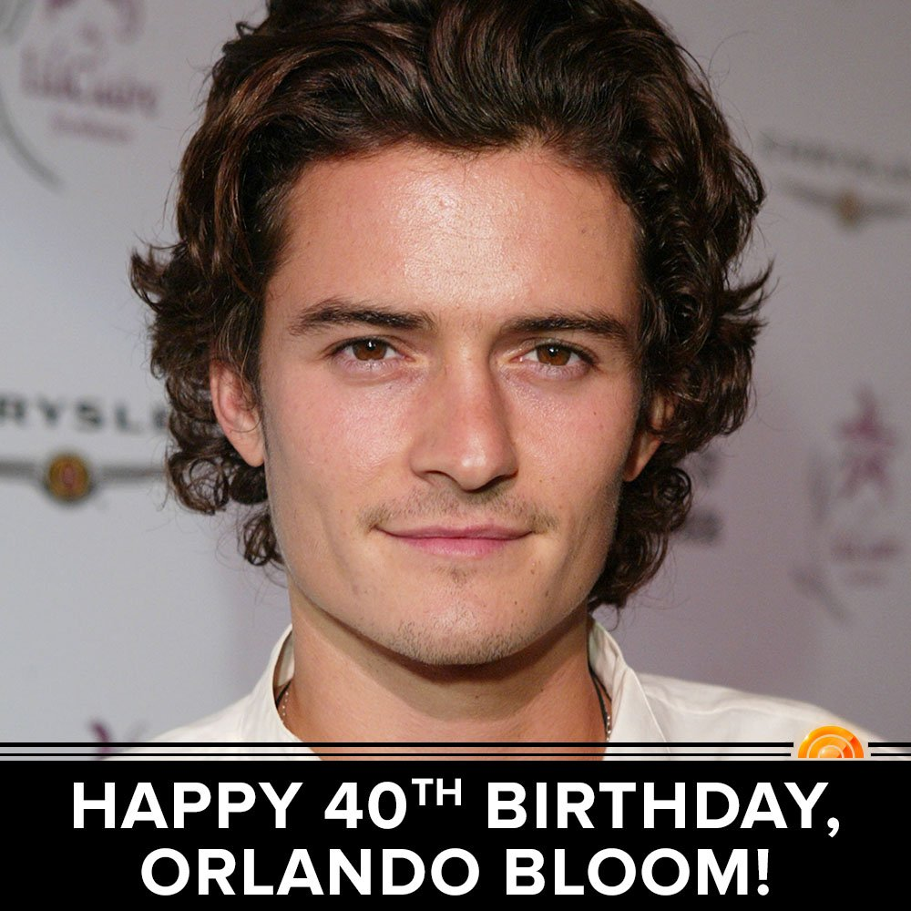 Happy 40th birthday, Orlando Bloom!