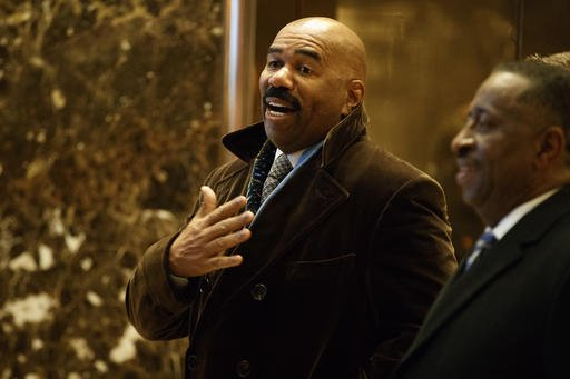 Steve Harvey: I won't be attending Trump inauguration because my wife said no https://t.co/HO4rSylUEV https://t.co/aFbfFNMiab