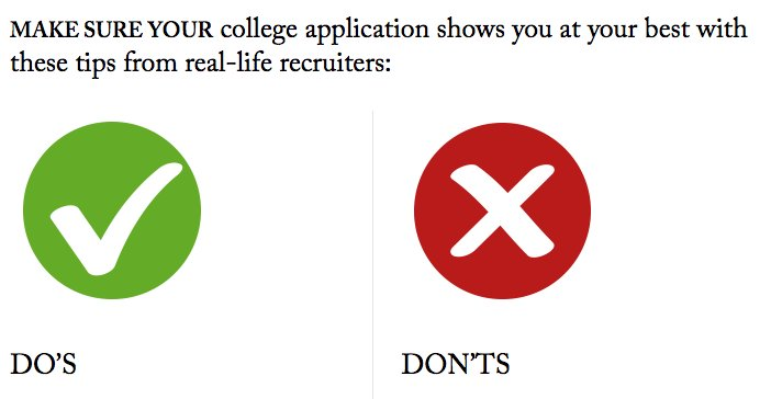 #FutureTrojans: Finishing up your USC application for the 1/15 deadline? Read these application Do&#39;s &amp; Don&#39;ts:  http:// ow.ly/rGY1307Znlv  &nbsp;  <br>http://pic.twitter.com/v1gS7yStlX
