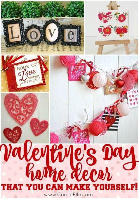 DIY Valentine\'s Day Decorations