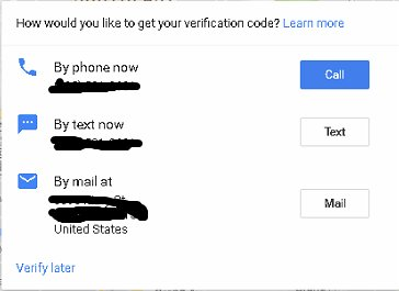 phone verify google maps