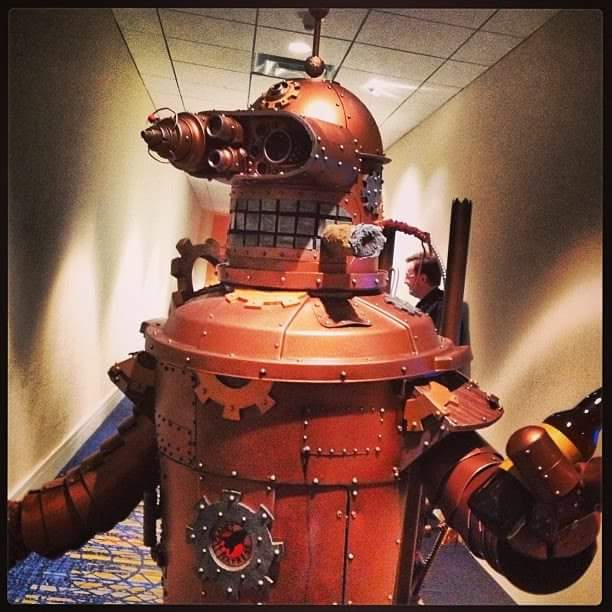 "#Futurama #steampunk #bender ""Whatta you lookin at?"""