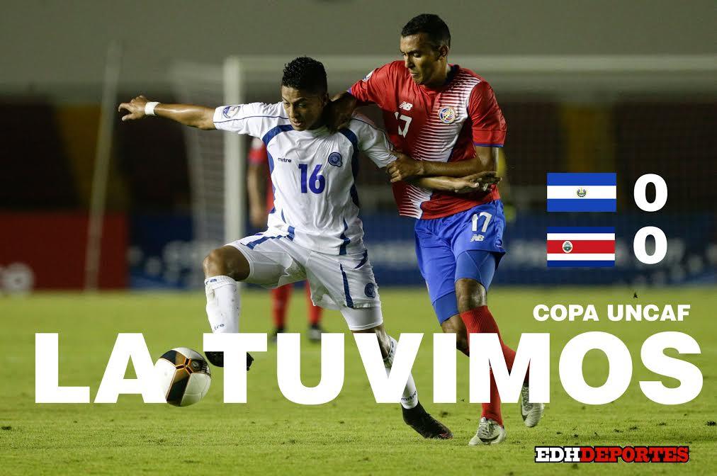 UNCAF 2017: El Salvador 0 Costa Rica 0. C2GB-sBWEAEmWvB