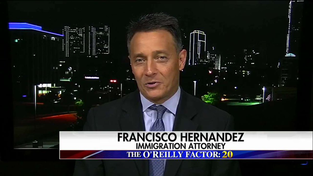 """Francisco Hernandez:  """"There is no such thing as a sanctuary city."""" #oreillyfactor <br>http://pic.twitter.com/mzKblH4euJ"""
