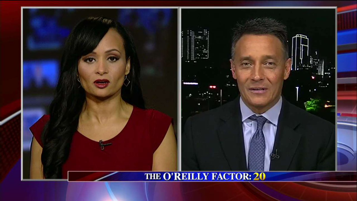 """.@KatrinaPierson: """"Why do you need a law to tell law enforcement to enforce a law?"""" #oreillyfactor <br>http://pic.twitter.com/9U8reWzeui"""