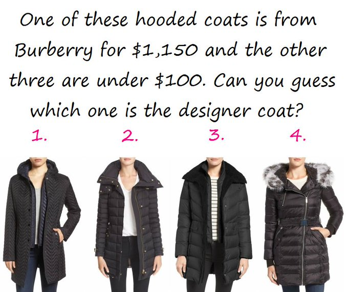 Guessing Game: Burberry Coat!