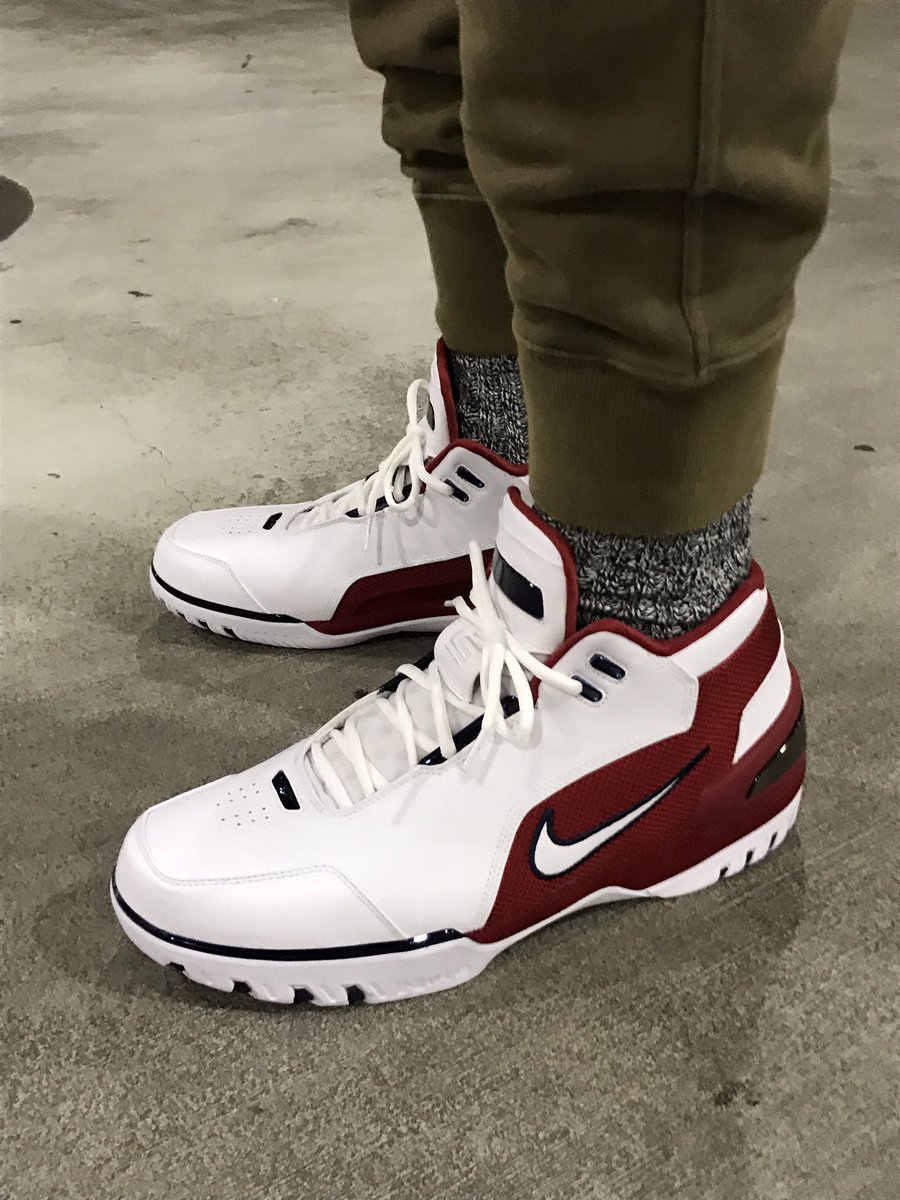 ... Nike Air Zoom Generation. It's retro time. 'Coming here as an 18 year old  kid, I started my journey.'
