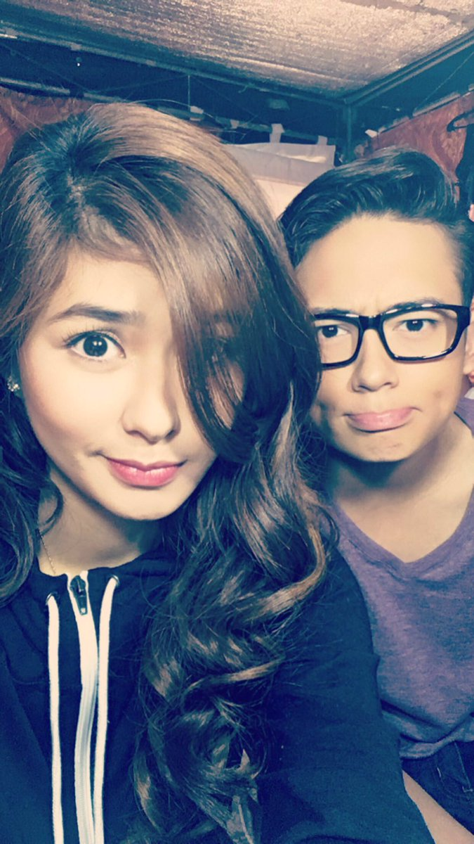 Taping day #2 w/ @iamAndalioLoisa 👌🏼 #WansaMyHairLady https://t.co/DQq...