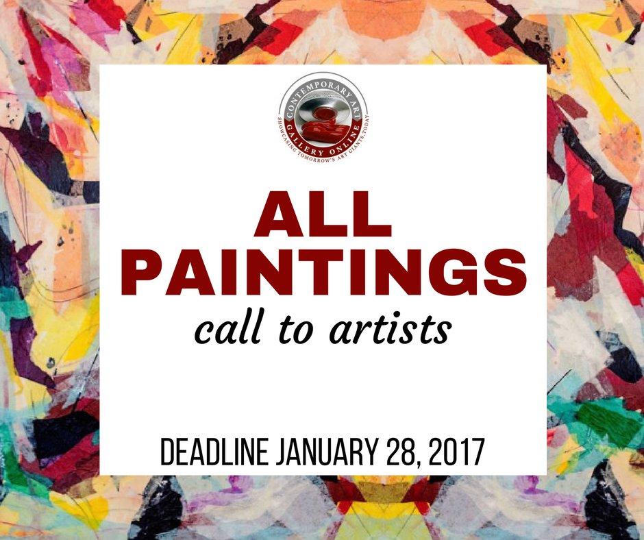 All Paintings - Call to Artists - DEADLINE JANUARY 28, 2017 https://t.co/l84hGNDb0B https://t.co/wpAfnjVqCJ