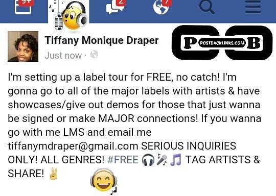 tiffanymdraper@gmail.com #rapper #singer #producer #recordlabel #musician #indiemusic #indieartist #coasttocoast <br>http://pic.twitter.com/FiINpWQEyH
