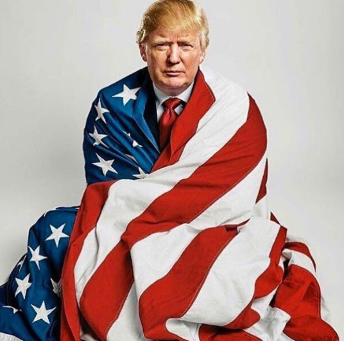 AFTER 8 YEARS OF APOLOGIES  It\'s GREAT having a President who\'s PROUD to be an American     #GodBlessAmerica  #MAGA