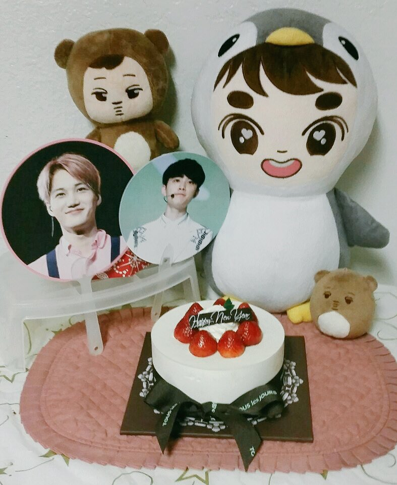 When you&#39;re a jongin stan and your sis is a kyungsoo stan, you celebrate their birthdays on the 13th  #happyDOday #HappyKAIDay<br>http://pic.twitter.com/G7hM2QjdUF