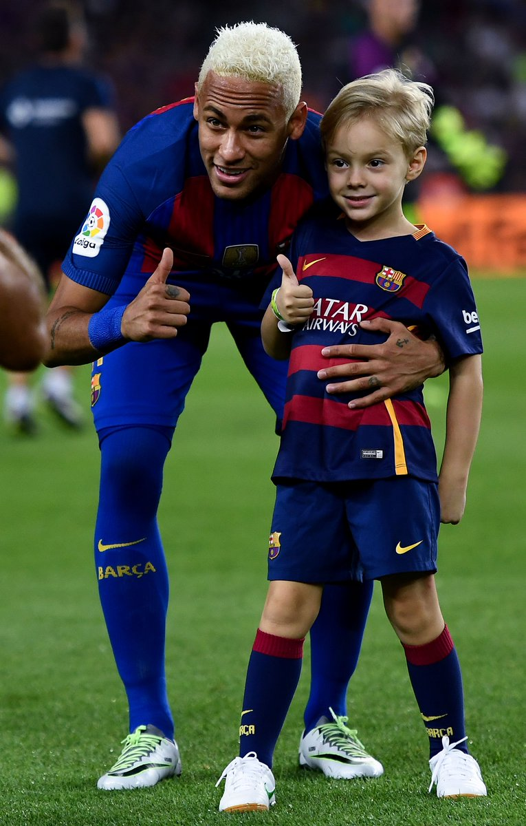 "Neymar Jr. on Twitter: ""FCB Escola, Barça's academy, now ..."