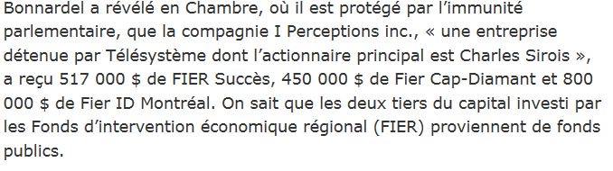 .@ericcaire Accuser PQ de détournement de fonds est vil. Un pétard mouillé. Et ça?-&gt;L'ADQ implique Charles Sirois dans 1 autre combine #caq <br>http://pic.twitter.com/Bd4LfXqmNA