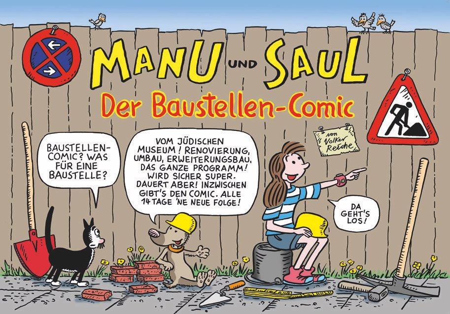 Baustelle haus comic  Jüdisches Museum FFM on Twitter: