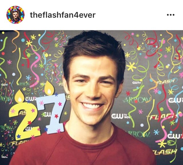Happy 27th Birthday Thomas Grant Gustin.   (                                        )