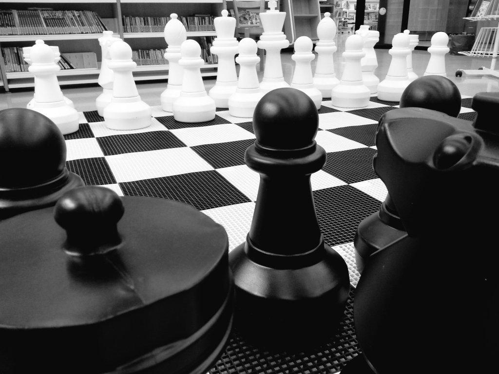 Escacs a la biblio