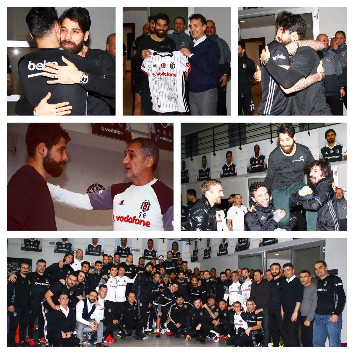 Yolun açık olsun #OlcayŞahan... Tüm emeklerin için teşekkür ederiz. #Beşiktaş<br>http://pic.twitter.com/3d4QdcfzsT