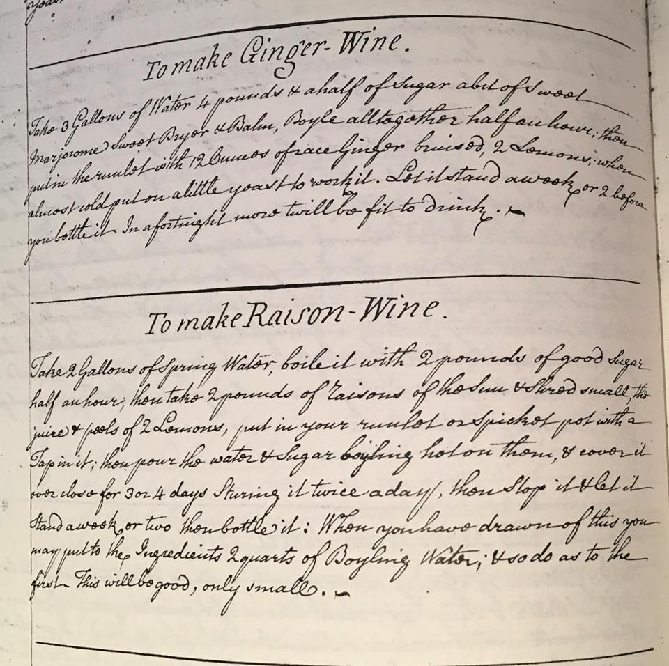 Watching @SaturdayKitchen at 10am? Here's two recipes for wine from a manuscript in our collection that belonged to Jane #Austen brother