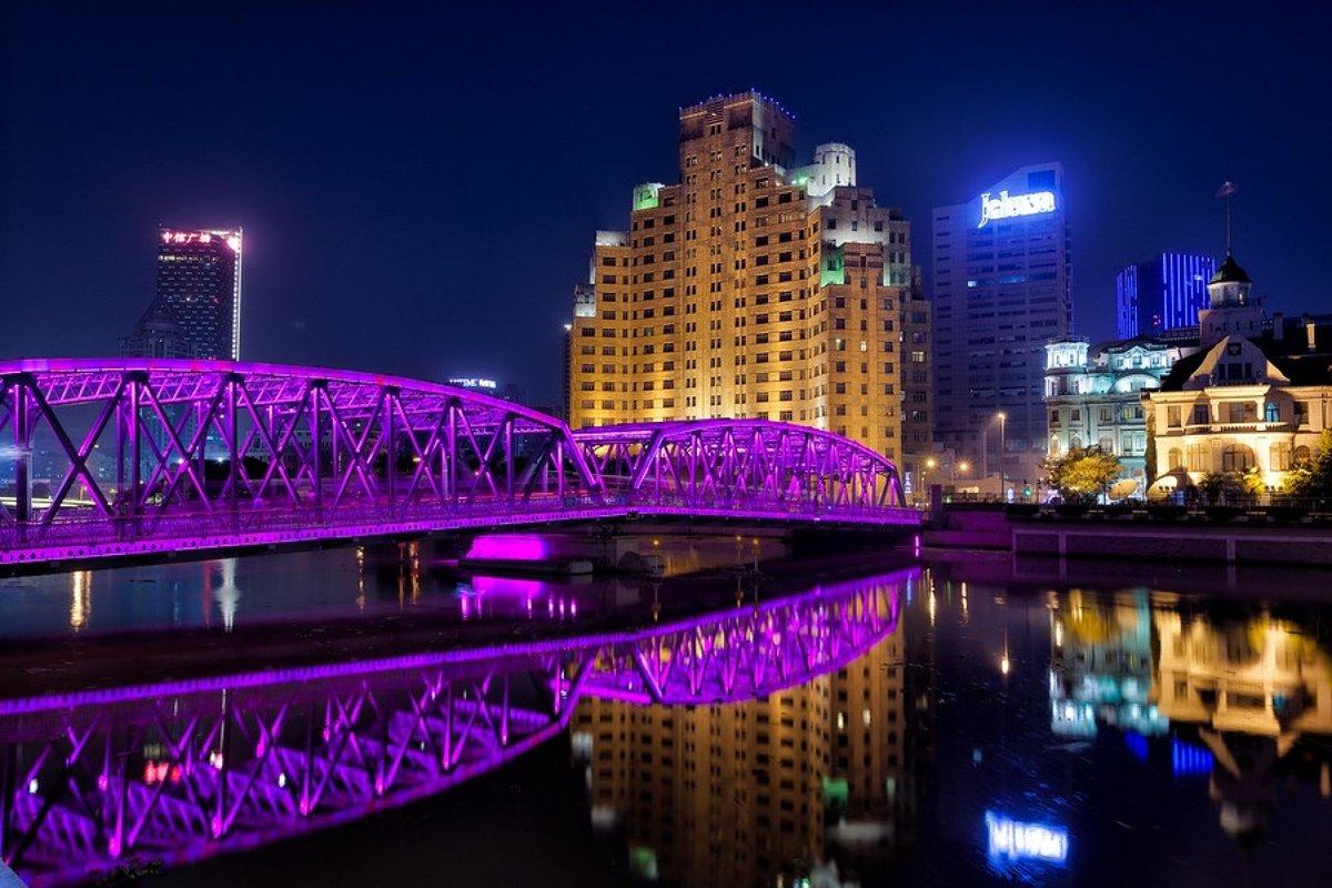 Resultado de imagem para Ponte Waibaidu