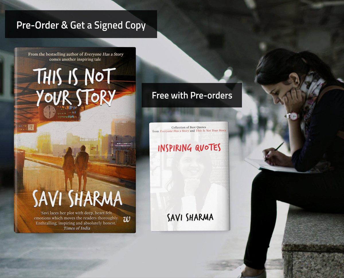 Savi Sharma On Twitter Pre Order Httpstco4xecdsjshk Get An
