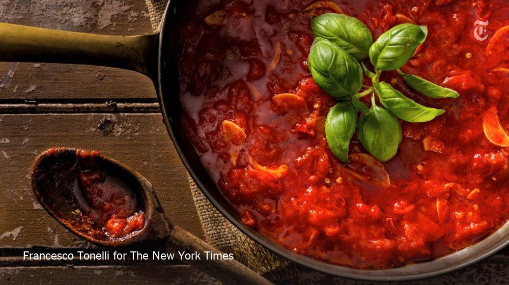 Соус маринара рецепт с фото на зиму