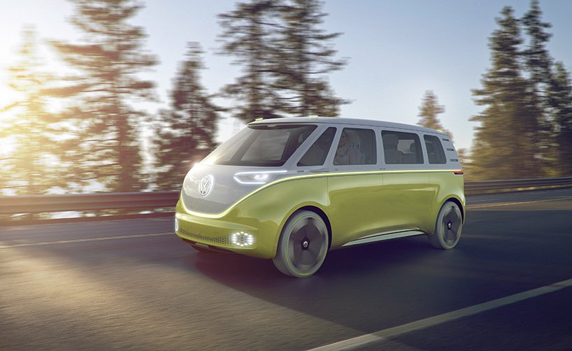 Wolkswagen ID BUZZ concept self driving electric campervan /  https:// vimeo.com/198649379  &nbsp;   innovation nostalgique #oxymore <br>http://pic.twitter.com/9pOtxPdAfi