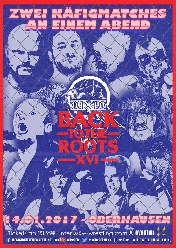 RESULTADOS - wXw Back To The Roots XVI (14/01/2017)