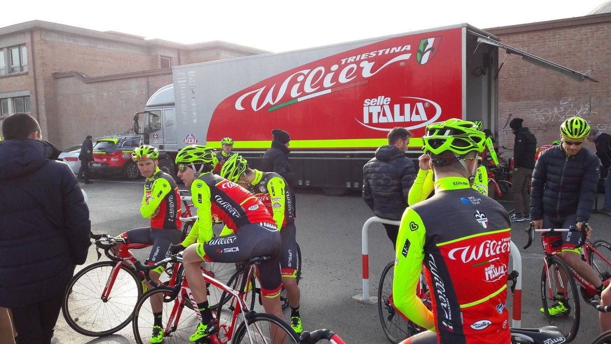 Pantaloncini ciclismo squadra team WILIER Selle Italia