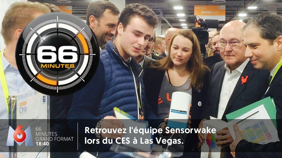 RDV dimanche à 18:40 sur M6 ! Venez revivre nos moments forts du #CES2017 de Las Vegas avec @Sensorwake<br>http://pic.twitter.com/MFI7rsoUmF