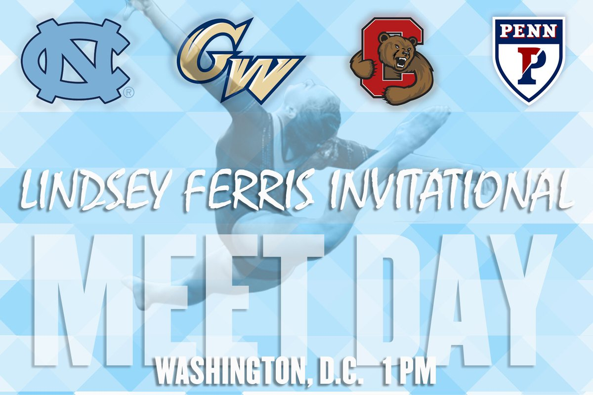 It&#39;s meet day here in Washington, D.C.! #GoHeels #RiseAndGrind<br>http://pic.twitter.com/wYELaMTyVj