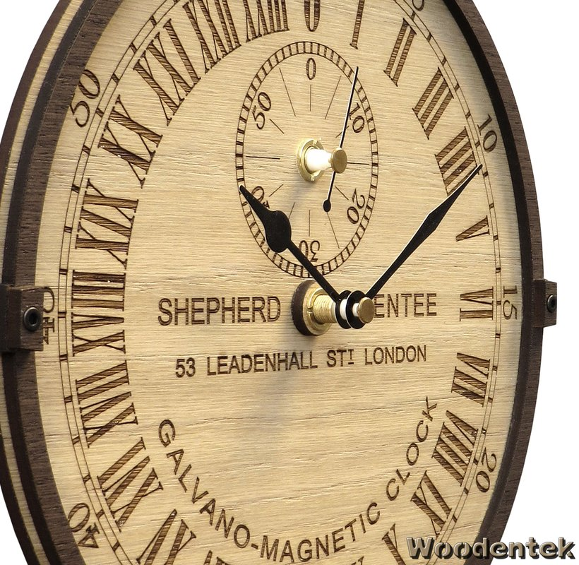 Handmade #Greenwich #Galvano-Magnetic wooden clock #Londres #ShepherdGateClock #unique #Británico #Family https://t.co/LiVAVKue5q