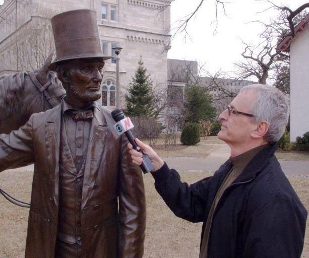 Perguntei a Lincoln o que acha de Donald Trump como presidente. Preferiu ficar calado https://t.co/g81MvyqWUz