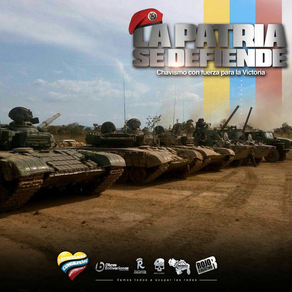 Pueblo venezolano se movilizó para participar en el Ejercicio Cívico-M...