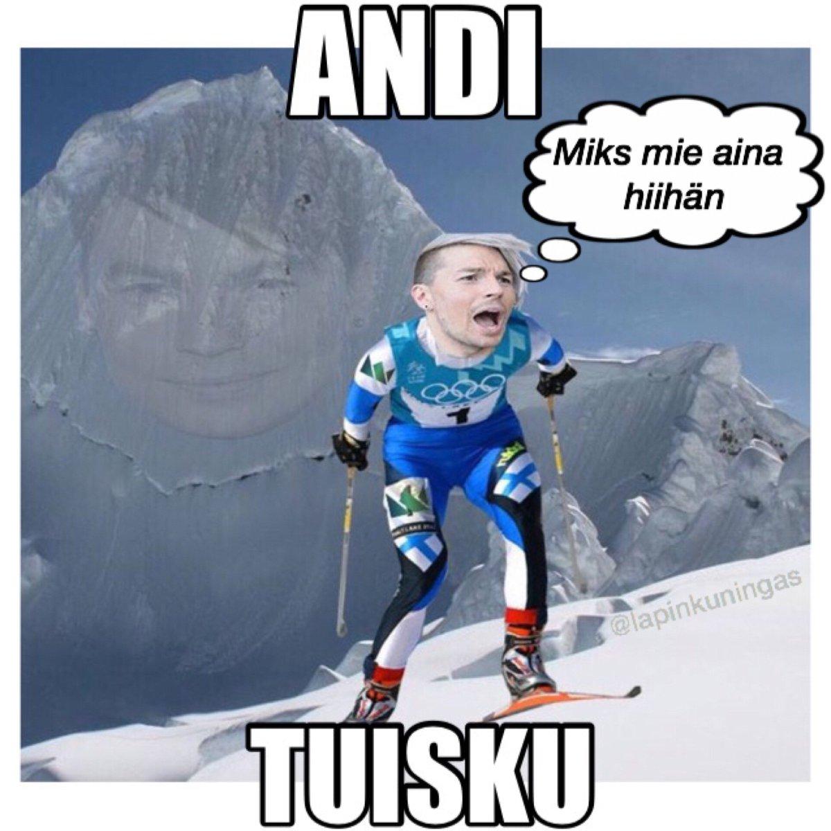 mä hiihdän