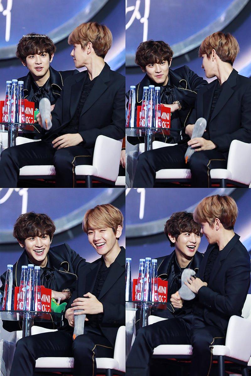 Too much cuteness  #chanbaek #baekyeol<br>http://pic.twitter.com/gJxIIjt7F1