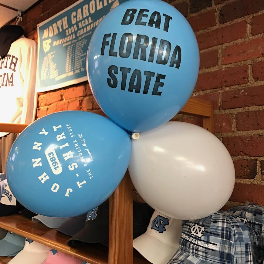 We&#39;re open! Come by and see us on the way to the @UNC_Basketball game! #GoHeels #BeatFSU<br>http://pic.twitter.com/RiuYFbd1lG