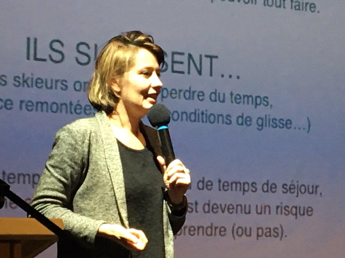 Présentation de #yuge l&#39;application auto apprenante et personnalisable  @LaPlagne @ParadiskiResort #RencontresClimatMeteoMontagne<br>http://pic.twitter.com/HDYfymQbUh
