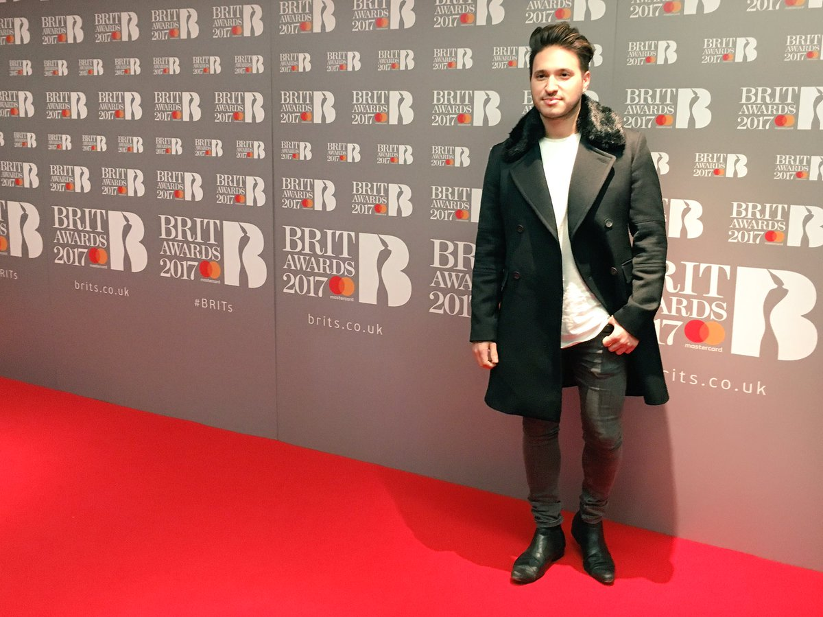 Strong pose from @JonasBlue on the Red Carpet here at The #BRITs Nominations! 😎