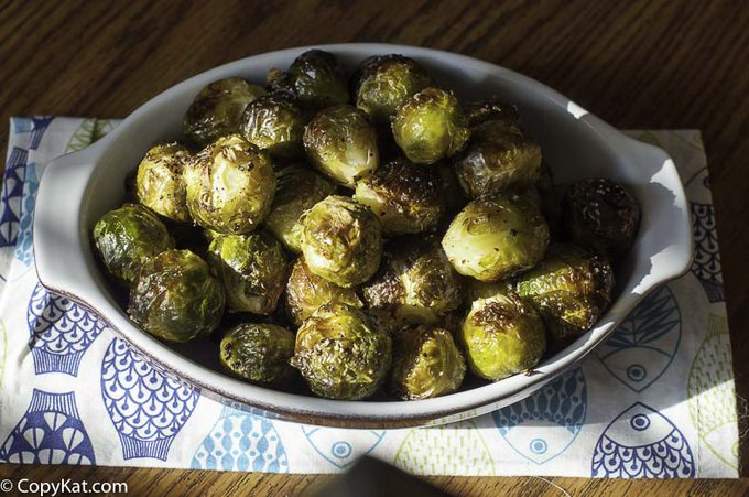 Make Red Lobster Fresh Roasted Brussel Sprouts