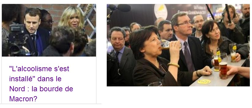 Emmanuel #Macron critiqué après avoir évoqué l&#39;alcoolisme dans le nord de la France. Il Faisait sans doute allusion à ceci... #MacronLille<br>http://pic.twitter.com/ejQ0Nm1ERE