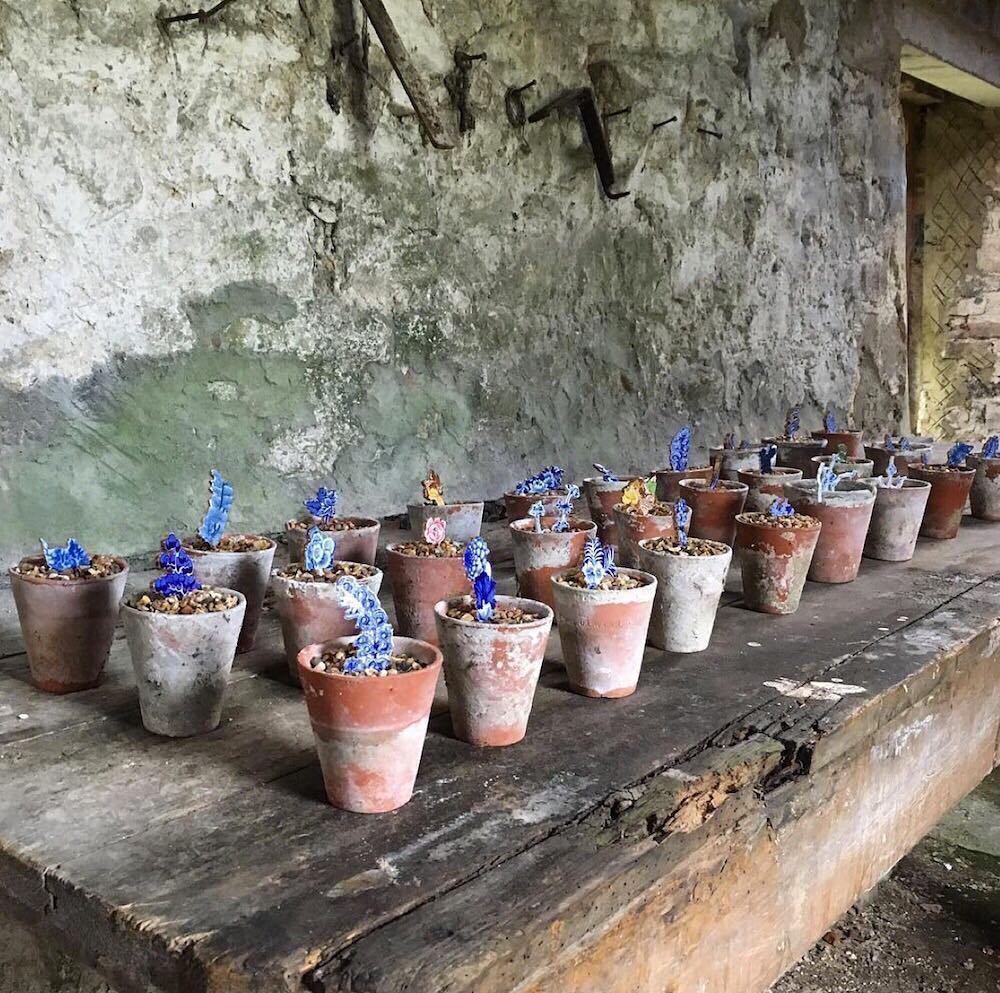 Works from UK ceramist Paul Scott, &quot;Trees and Cuttings&quot;. #paulscott #trees #cuttings #cera…  http:// ift.tt/2jJjreF  &nbsp;  <br>http://pic.twitter.com/rrekR9187C