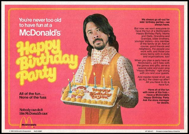Happy 48th Birthday Dave Grohl.