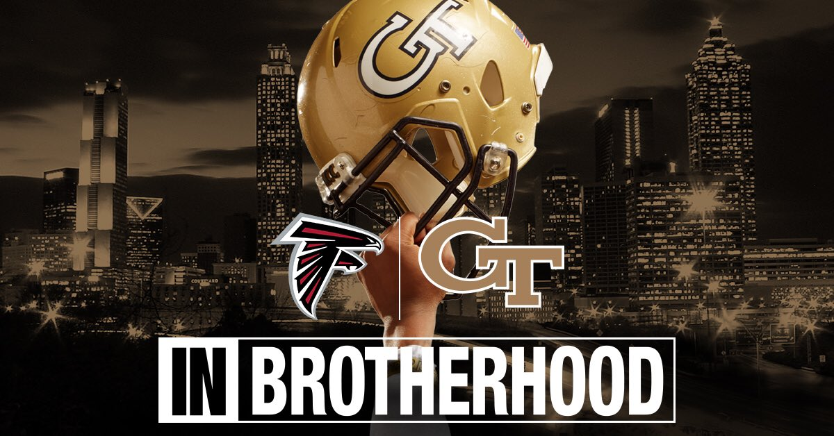 #inBrotherhood for our city! Good luck to @AtlantaFalcons! #RiseUp https://t.co/XosG8EzW4x